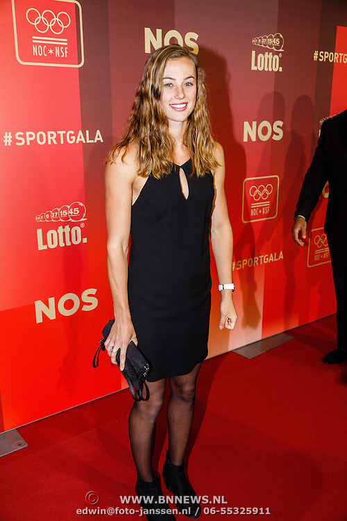 NLD/Amsterdam/20151215 - NOC / NSF Sportgala 2015, Nadine Visser