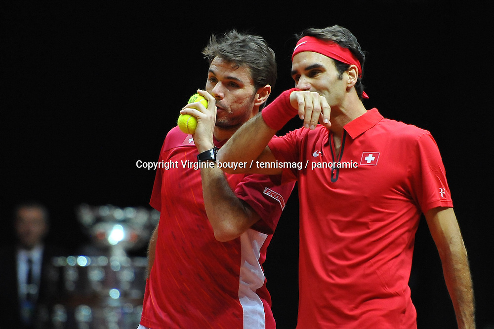 Roger Federer (SUI)<br /> Stan Wawrinka (SUI)