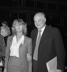 SIR JAMES & LADY ANNABEL GOLDSMITH in London 20th March 1979.