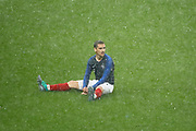 Antoine GRIEZMANN (FRA) miised the ball to score, seat on the grass during the FIFA Friendly Game football match between France and Republic of Ireland on May 28, 2018 at Stade de France in Saint-Denis near Paris, France - Photo Stephane Allaman / ProSportsImages / DPPI