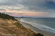Beach at sunset at Cape Blanco State Park, Oregon, USA