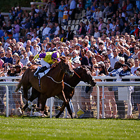 Brando (TA. Eaves) beats Aclaim (O. Peslier) in LARC Prix Maurice De Gheest Gr.1 in Deauville, France, 06/08/2017, photo: Zuzanna Lupa / Racingfotos.com