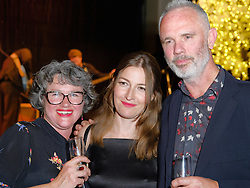 Edinburgh International Film Festival, Wednesday, 19th June 2018<br /> <br /> Opening Night Red Carpet: PUZZLE (International Premiere) <br /> <br /> Pictured: Simone Pereira Hind, Kelly MacDonald and Robert Hind  at the after party<br /> <br /> (c) Aimee Todd | Edinburgh Elite media