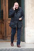 2013/03/19 Roma, parlamentari in Piazza Montecitorio. Nella foto Gianfranco Sammarco.<br /> Rome, parliamentarians in Montecitorio Square. In the picture Gianfranco Sammarco - &copy; PIERPAOLO SCAVUZZO