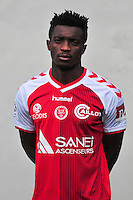 Benjamin Moukandjo - 21.10.2014 - Photo officielle Reims - Ligue 1 2014/2015<br /> Photo : Philippe Le Brech / Icon Sport