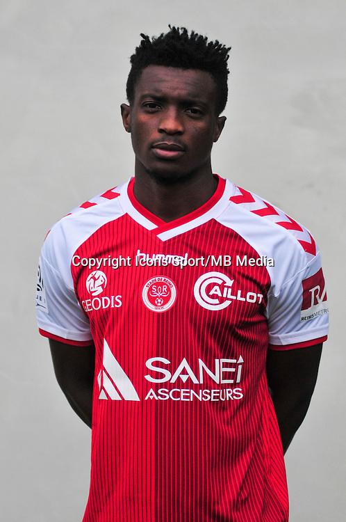 Benjamin Moukandjo - 21.10.2014 - Photo officielle Reims - Ligue 1 2014/2015<br /> Photo : Philippe Le Brech / Icon Sport