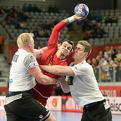 20180119: CRO, Handball - EHF Euro Croatia 2018 - Group II. Germany vs Czech Republic
