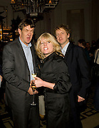 ROBERT MCCRUMB; RACHEL JOHNSON; SEBASTIAN SHAKESPEARE, Book party; Jessica Adams, Maggie Alderson, Imogen Edwards-Jones and Kathy Lette host the launch of 'In Bed With.' Artesian, The Langham, Portland Place. London. 11 February 2009 *** Local Caption *** -DO NOT ARCHIVE-© Copyright Photograph by Dafydd Jones. 248 Clapham Rd. London SW9 0PZ. Tel 0207 820 0771. www.dafjones.com.<br /> ROBERT MCCRUMB; RACHEL JOHNSON; SEBASTIAN SHAKESPEARE, Book party; Jessica Adams, Maggie Alderson, Imogen Edwards-Jones and Kathy Lette host the launch of 'In Bed With.' Artesian, The Langham, Portland Place. London. 11 February 2009