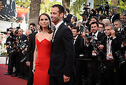 BENJAMIN MILLEPIED & NATALIE PORTMAN- OPENING THE 68th CANNES FILM FESTIVAL - RED CARPET ' HIGH HEAD '<br /> ©Exclusivepix Media