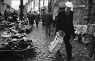 "Paddy's Market, a ""flea"" market. Used in the city as a place  for buying used clothes, toys, household goods, as well as illegal duty-free tobacco and alcohol. The market runs from Monday-Friday, and is frequented by local Glaswegians, and more recently also by drug users and pushers."