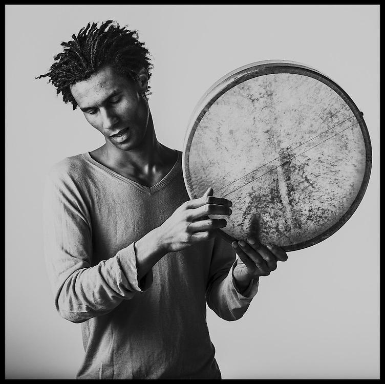 Lamine Diagne, musicien et conteur