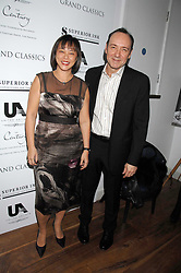 KEVIN SPACEY and MAI WONG at the Grand Classic screening of The Apartment held at The Electric Cinema, 191 Portobello Road, London on 16th March 2008.<br />