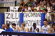 LIGNANO SABBIADORO, 08 LUGLIO 2015<br /> BASKET, EUROPEO MASCHILE UNDER 20<br /> ITALIA-BOSNIA ERZEGOVINA<br /> NELLA FOTO: tifosi<br /> FOTO FIBA EUROPE/CASTORIA