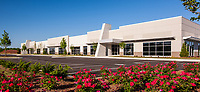 Architectual image of Redstone Gateway Business Park in Huntsville Alabama by Jeffrey Sauers of Commercial Photographics