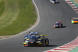 May 6, 2018 - Brands Hatch, Grande Bretagne - 17 BELGIAN AUDI CLUB TEAM WRT (BEL) AUDI R8 LMS STUART LEONARD (GBR) FREDERIC VERVISCH  (Credit Image: © Panoramic via ZUMA Press)