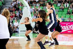 Dance team Zmajcice and Jiri Welsch during basketball event Kosarkaska simfonija - last offical basketball match of Bostjan Nachbar and Sani Becirovic, on August 30, 2018 in Arena Stozice, Ljubljana, Slovenia. Photo by Urban Urbanc / Sportida