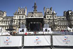 August 6, 2018 - Paris, FRANCE - Ambiance handisport - hockey fauteuil (Credit Image: © Panoramic via ZUMA Press)