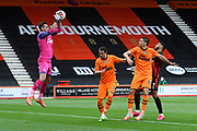 Martin Dubravka (1) of Newcastle United claims the ball during the Premier League match between Bournemouth and Newcastle United at the Vitality Stadium, Bournemouth, England on 1 July 2020.
