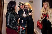 GEORGINA BAILEY; ADAM ANT; JENNY RUNACRE; TWINKLE , Showing of Jubilee. Society film club, Sanctum Soho Hotel. celebrating Robert PerenoÕs birthday and the official launch of The Society Film Club on the Rooftop bar of the Sanctum. -DO NOT ARCHIVE-© Copyright Photograph by Dafydd Jones. 248 Clapham Rd. London SW9 0PZ. Tel 0207 820 0771. www.dafjones.com.<br /> GEORGINA BAILEY; ADAM ANT; JENNY RUNACRE; TWINKLE , Showing of Jubilee. Society film club, Sanctum Soho Hotel. celebrating Robert Pereno's birthday and the official launch of The Society Film Club on the Rooftop bar of the Sanctum. -DO NOT ARCHIVE-© Copyright Photograph by Dafydd Jones. 248 Clapham Rd. London SW9 0PZ. Tel 0207 820 0771. www.dafjones.com.