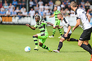 Forest Green Rovers Drissa Traore (4) in possession during the Vanarama National League match between Dover Athletic and Forest Green Rovers at Crabble Athletic Ground, Dover, United Kingdom on 10 September 2016. Photo by Shane Healey.