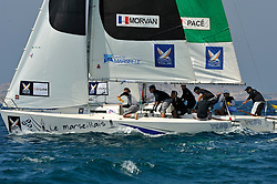 Morvan and Pace in the quarter finals. Photo: Chris Davies/WMRT