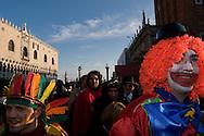 Venice (VE) 18/02/2007 - Venice Carnival 2007. The masks of the Carnival.