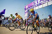 Tour of Thailand 2015/ Stage4/ Mukdahan - Nakhon<br /> Phanom/ KSPO/ Seo Joon Yong/ Sea Keong Loh/ Malaysia