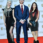 Arrivers at the British Academy (BAFTA) Games Awards at Queen Elizabeth Hall, Southbank Centre  on 4 March 2019, London, UK.