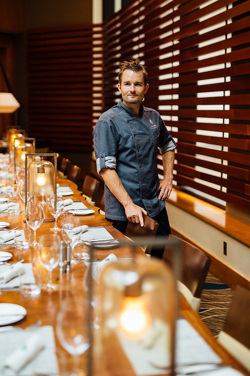 Executive Chef at Yew Seafood + Bar, Ned Bell, Vancouver, British Columbia, Canada.