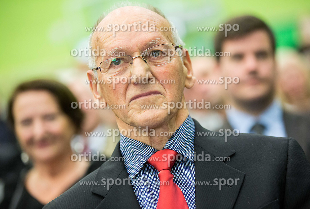 Miroslav Cerar during Grand Opening of new Ljubljana Gymnastics centre Cerar-Pegan-Petkovsek, on November 26, 2015 in Ljubljana, Slovenia. Photo by Vid Ponikvar / Sportida
