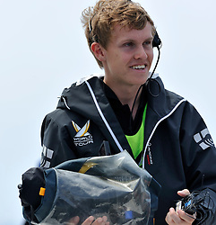 Onboard camera-men during the semi final. Photo: Chris Davies/WMRT