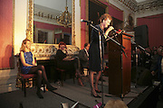 SARAH JANE LOVAT AND SARAH CROWDEN, Literary Review's Bad Sex In Fiction Prize.  In & Out Club (The Naval & Military Club), 4 St James's Square, London, SW1, 29 November 2006. <br />