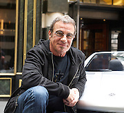 """Tico Torres <br /> launching children's clothing label Rock Star Baby to British Press at The Savoy Hotel, London, Great Britain <br /> 4th July 2013 <br /> <br /> Tico Torres <br /> with <br /> Walter Fry (3.5 yrs)<br /> and<br /> Freddie Wilkiman (5 yrs)<br /> Photograph by Elliott Franks <br /> <br /> Hector Samuel Juan """"Tico"""" Torres (born October 7, 1953) is an American drummer and percussionist for rock band Bon Jovi. He also has taken lead vocals on a song on the box set 100,000,000 Bon Jovi Fans Can't Be Wrong, as well as backing vocals on a couple of the early Bon Jovi tracks, notably """"Born to Be My Baby"""" and """"Love for Sale""""."""