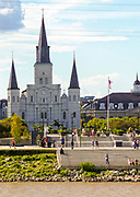 St. Louis Cathedral in New Orleans, LA