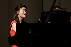 June 16, 2017 - Shenyang, Shenyang, China - Shenyang, CHINA-June 16 2017: (EDITORIAL USE ONLY. CHINA OUT) Chinese pianist Sa Chen performs at her solo concert in Shenyang, northeast China's Liaoning Province, June 9th, 2017. (Credit Image: © SIPA Asia via ZUMA Wire)