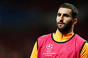 AS Roma's French midfielder Maxime Gonalons warms up before the UEFA Champions League, Group C football match between Atletico Madrid and AS Roma on November 22, 2017 at the Wanda Metropolitano in Madrid, Spain - Photo Benjamin Cremel / ProSportsImages / DPPI