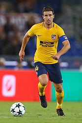 September 12, 2017 - Rome, Italy - Gabi of Atletico  during the UEFA Champions League Group C football match between AS Roma and Atletico Madrid on September 12, 2017 at the Olympic stadium in Rome. (Credit Image: © Matteo Ciambelli/NurPhoto via ZUMA Press)