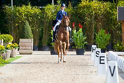 Vangheluwe Camille, BEL, FBW Rainman<br /> Juniors<br /> European Championships Dressage <br /> Roosendaal 2017<br /> © Hippo Foto - Leanjo de Koster<br /> 09/08/17
