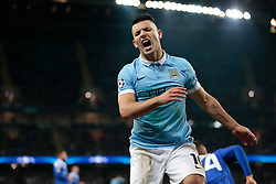 15.03.2016, Etihad Stadium, Manchester, ENG, UEFA CL, Manchester City vs Dynamo Kiew, Achtelfinale, Rueckspiel, im Bild aguero sergio // during the UEFA Champions League Round of 16, 2nd Leg match between Manchester City and FC Dynamo Kyiv at the Etihad Stadium in Manchester, Great Britain on 2016/03/15. EXPA Pictures © 2016, PhotoCredit: EXPA/ Pressesports/ MARTIN RICHARD<br /> <br /> *****ATTENTION - for AUT, SLO, CRO, SRB, BIH, MAZ, POL only*****
