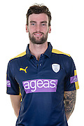 Hampshire left-arm fast bowler Reece Topley in the 2016 Royal London One Day Cup Shirt. Hampshire CCC Headshots 2016 at the Ageas Bowl, Southampton, United Kingdom on 7 April 2016. Photo by David Vokes.