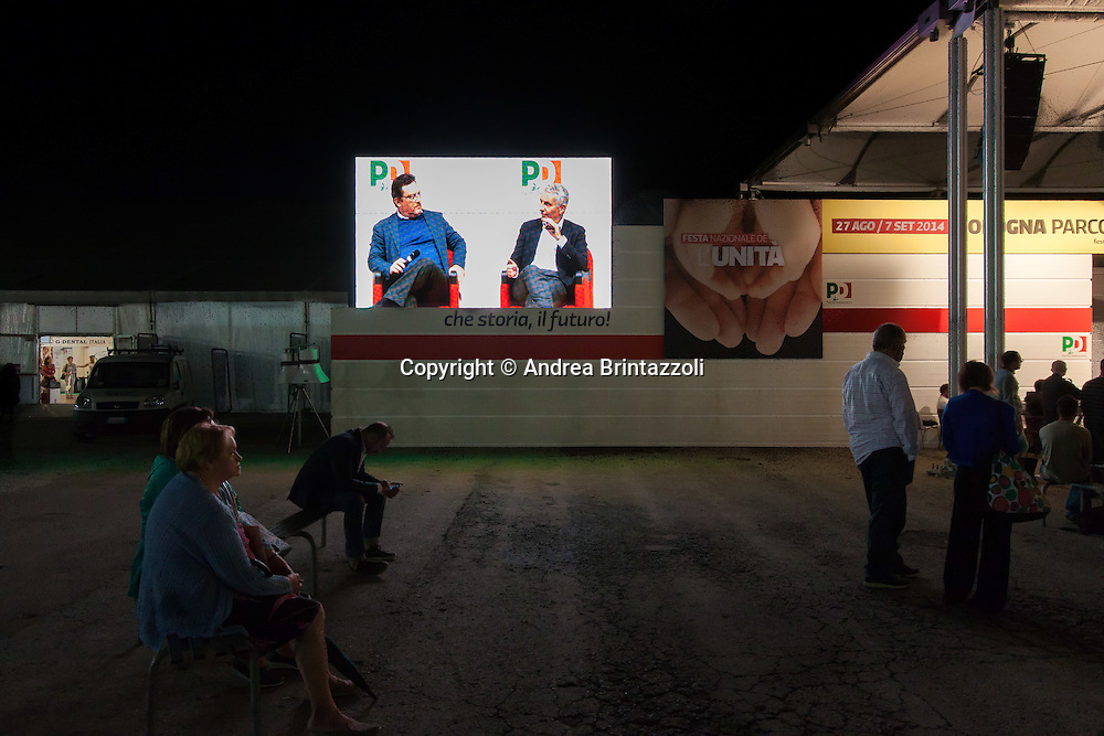 Bologna 01 Settembre 2014 - Festa dell'Unità - Mille giorni per il Futuro. Le riforme che servono.