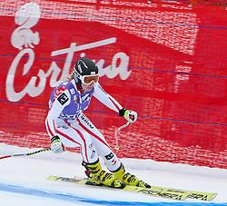 19.01.2011, Tofana, Cortina d Ampezzo, ITA, FIS World Cup Ski Alpin, Lady, Cortina, Abfahrt 1. Training, im Bild Mariella Voglreiter (AUT, #33) // Mariella Voglreiter (AUT) during FIS Ski Worldcup ladies downhill first training at pista Tofana in Cortina d Ampezzo, Italy on 19/1/2011. EXPA Pictures © 2011, PhotoCredit: EXPA/ J. Groder