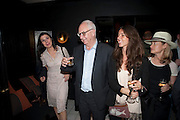 ALLEGRA DONNE; DON BOYD; INES BRAGA, Book party for Janine di Giovanni's Ghosts by Daylight. Blake's Hotel. South Kensington. London. 12 July 2011. <br /> <br />  , -DO NOT ARCHIVE-© Copyright Photograph by Dafydd Jones. 248 Clapham Rd. London SW9 0PZ. Tel 0207 820 0771. www.dafjones.com.