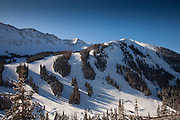 Arapaho Basin Ski Area, Summit County, Colorado, Winter