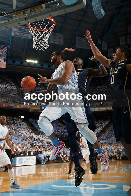 CHAPEL HILL, NC - FEBRUARY 15: Leslie McDonald #2 of the North Carolina Tar Heels plays during a game against the Pittsburg Panthers on February 15, 2014 at the Dean E. Smith Center in Chapel Hill, North Carolina. North Carolina won 75-71. (Photo by Peyton Williams/UNC/Getty Images) *** Local Caption *** Leslie McDonald