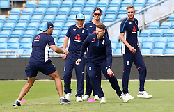 England's Jos Buttler during a nets session at Headingley, Leeds.