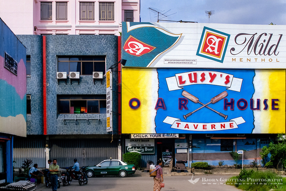 Indonesia, Riau, Batam. Nagoya center. Pub.