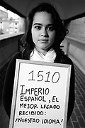 The Spanish Empire's greatest legacy: our language! <br /> <br /> Milena, Colombia