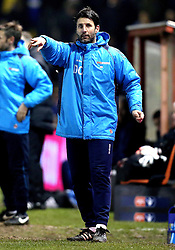 Lincoln City manager Danny Cowley issues instructions to his team - Mandatory by-line: Robbie Stephenson/JMP - 17/01/2017 - FOOTBALL - Sincil Bank Stadium - Lincoln, England - Lincoln City v Ipswich Town - Emirates FA Cup third round replay