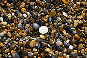 Pebbles at Cley Beach, Norfolk, United Kingdom